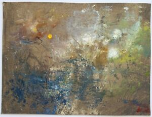 James Carlisle - 1937-2019 - Impressionist moonlight - jewel of a painting