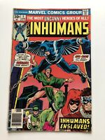 The Inhumans #5 Marvel Comics Vintage Black Bolt Good Condition.