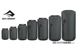 Sea to Summit ULTRA SIL DRY SACK Bag Grey Sizes 1L to 35L ideal for backpackers