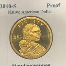 2010-S Sacagawea Native American Dollar Golden.. collectors piece