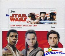 2017 Topps Star Wars: The Last Jedi MASSIVE Sealed 24 Pack Retail Box-144 Cards
