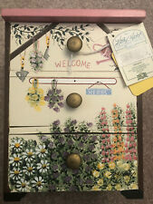 Hand-Painted English Garden Collection 3 Drawer Storage Box