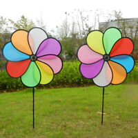 Big Wind Spinners Peacock Shape Windmill Party Pinwheel For Outdoor Playing