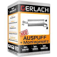 Auspuff Opel Astra H 1.3 1.7 CDTi TD auch GTC Endschalldämpfer *3806
