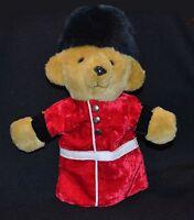 Vintage Merrythought English Palace Plush Guard Hand Puppet