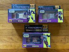 X-Transbots Transformers Menasor Youth G1 Stunticons Lot of 3