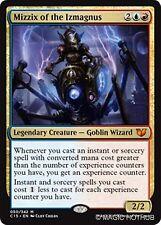 MIZZIX OF THE IZMAGNUS Commander 2015 MTG Gold Creature — Goblin Wizard Mythic R