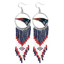 New England Patriots Dreamcatcher Earrings NFL Authentic by Little Earth New