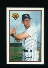 1989 BOWMAN TIFFANY #178 STEVE SAX NEW YORK YANKEES