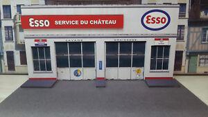 Façade Esso Service 1/43°