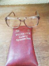 Vintage Vistalux Safety Spectacles With Case