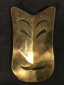 VINTAGE COMEDY AND TRAGEDY THEATER DOOR PULLS