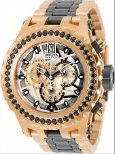 Invicta Reserve JT Subaqua Specialty Ltd Ed Rose Gold Black Gemstone MOP Watch