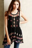 Anthropologie New HD in Paris Alaina Stitched Tunic by HD In Paris Size S NWT