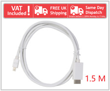 Genuine Original Apple Mini DisplayPort Thunderbolt to DisplayPort Adapter Cable