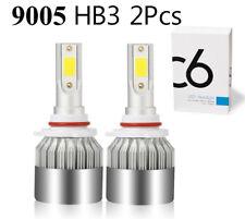 2x 9005 HB3 LED Headlight Kit 6000K 210000LM 1400W High Power White Light Bulbs