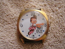 Vintage Bob's Big Boy Watch Swiss Made