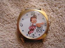 Vintage Bob's Big Boy Watch Swiss Made
