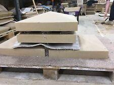 Cast stone pier caps (walling) 2 brick x 2 brick