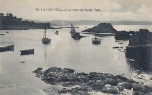 La Coruna, Una vista de Santa Cruz ngl E1658