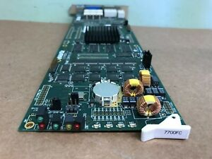 Evertz 7700FC VistaLink Frame Controller Card w/ back plane