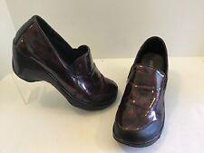 JBU Jambu PREVIEW Patent Purple Wedges Comfort Shoes Size 11 M