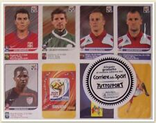 PANINI SOUTH AFRICA WORLD CUP 2010 80 UPDATE STICKERS - SEALED PACK