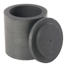 High Purity Graphite Melting Crucible Casting With Lid Cover 40*40mm F4R3 C X2F6