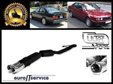 SILENCIEUX POT D'ECHAPPEMENT BMW E34 525 1987-1992 1993 1994 1995 1996 TIP 2x80