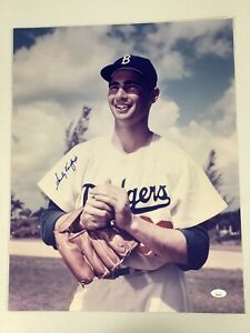 Sandy Koufax Signed Photo 16x20 Autograph Baseball Brooklyn Dodgers HOF JSA 1