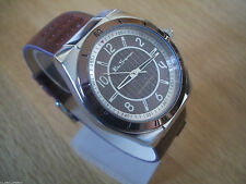 Ben Sherman Faux Leather Strap Polished Wristwatches