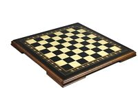 """LARGE WOODEN CHESS BOARD EBONY SOLID HANDCRAFTED SET HELENA MOTHER OF PEARL 19"""""""