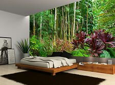 Jungle Forest Trees Nature Plants Wall Mural Photo Wallpaper GIANT WALL DECOR