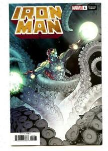 Iron Man #1 Silva Premiere Variant 2 Per Store 2020 Marvel Comics 9.6