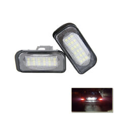 Led License Plate Light For Mercedes Benz W203 R230 W209 C209 A209 SL CLK Class