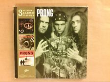 COFFRET 3 ALBUMS / PRONG / PROVE YOU WRONG / CLEANSING / RUDE AWAKENING / TBE