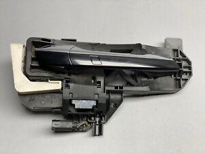 07-13 Mercedes W221 S550 Front Right Side Exterior Door Handle Keyless Go Black