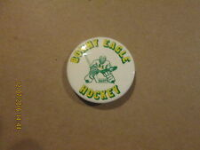 High School Vintage Bonny Eagle Scots Hockey 2 Inch Pinback Button