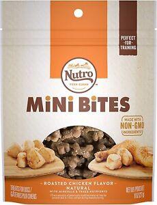 NUTRO Mini Bites Dog Treats. Size: 8 oz. Adult.