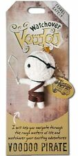 """Watchover VOODOO DOLL Keychain, Voodoo PIRATE, Travel Safely, 2.5"""" Tall"""