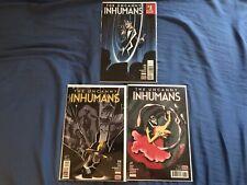 The Uncanny Inhumans #15-17
