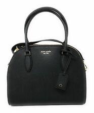 New Authentic Kate Spade Reiley Large Dome Satchel Purse Shoulder Bag Black