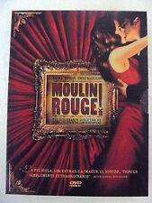 DVD,Moulin Rouge,2 Discos,Nicole Kidman