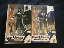 Hasbro Power Rangers Lightning Collection Mighty Morphin Black, Blue Ranger MIB