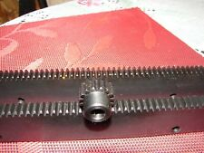 Cnc Step Motor Mechcanic Rack Amp Gear 48 2x24pcs Rack Amp 38 20t Pinion Gear