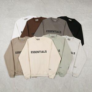 FEAR OF GOD Essentials Crewneck Sweatshirt 2021 (8 colors)