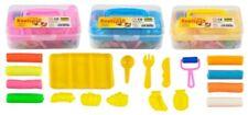 Knetspass-Box 17-tlg.Kinder Knete transparent sortiert