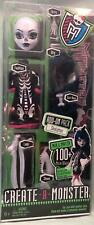 "1/6 12"" Monster High Create a Monster Skeleton Doll Mint in Package"