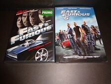 FAST & FURIOUS w/FAST & FURIOUS 6--2 movies-PAUL WALKER, VIN DIESEL, THE ROCK