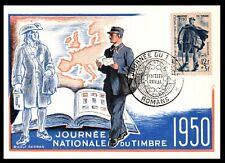 CARTE 1er JOUR / Jour du Timbre 1950 = Cote 38 € / Lot Timbre France